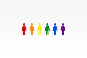 Les sujets LGBTQIA égalité et aspects sexuels